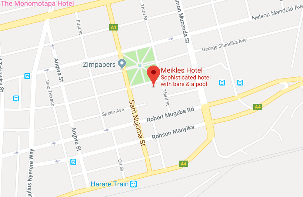 Meikles Hotel- Harare