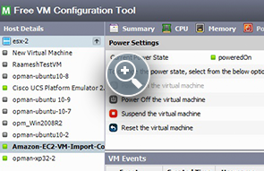 VMWare ESX Configuration Tool - ManageEngine Free Tools