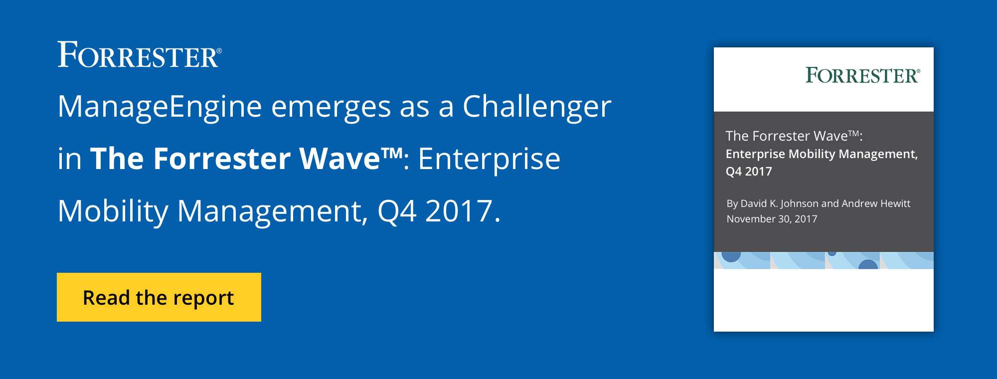 ManageEngine emerges as a Challenger 