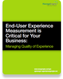 End-User Experience Measurement is Critical for your Business