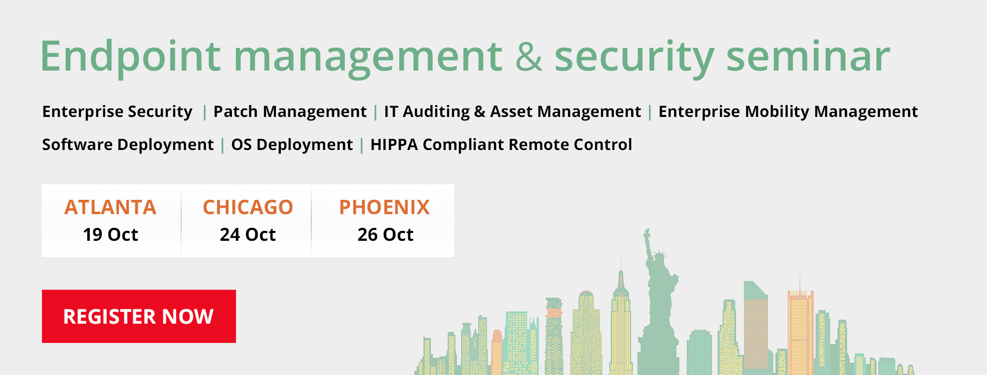 Endpoint management seminar October.