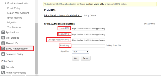 saml-sso-authentication-configuration